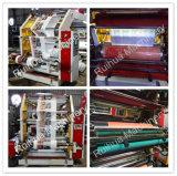 Máquina de impresión Flexo de alta velocidad de 6 colores para la tela no tejida