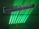 이동하는 맨 위 광속 점화 8개 피스 10 W LED 바