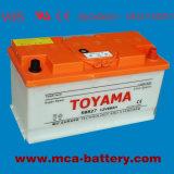 Preiswerte Autobatterie-trockene Batterie 12V mit einer 3 Jahr-Garantie