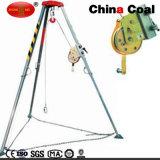 A proteção de segurança de carvão de mineração Tripé de salvamento de alumínio