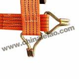 De oranje Band van de Pal van pp onderaan het Geselen van de Lading