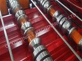 Roulis glacé par métal d'or de tuile de toit de fournisseur de la Chine formant la machine