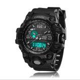 Digitaluhr-wasserdichte Sport-Uhr-Armee-Warnungs-Armbanduhren für Jungen Seewta