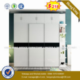 Aço de metal 3 Portas Verticais Armário para armazenamento de arquivos do Office (HX-8NR0731)