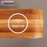 Estante de visualización del champú de la posición hecho de bambú