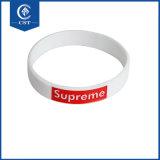 Logo personnalisé cadeau de promotion bracelet en silicone, Bracelet réglable