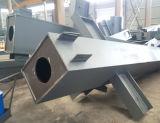 Soldado personalizado H viga para Edificio de estructura de acero estándar de SGS