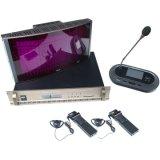 Yarmee transceptor infravermelho Digital Wireless Headset de interpretação simultânea do Sistema de microfone Ysd604