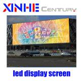 P8 Affichage LED de plein air Panneau mural Prix de la publicité de location de l'écran