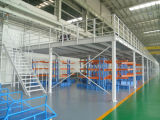 産業倉庫の記憶のための鋼鉄プラットホーム