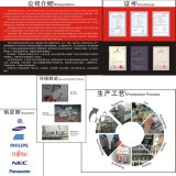 Lector de tarjetas dual de la tarjeta RFID de la frecuencia RFID de la tarjeta reescribible de encargo del bajo costo RFID