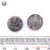 Deux trous Bouton en métal, alliage de zinc, nickel Bouton Bouton gratuit