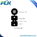 Le schéma de fibre optique extérieur 8 de câble d'interface de FTTH Plat-FRP