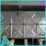 Chute de l'acier galvanisé à chaud de l'eau et de la dépendance du réservoir du réservoir de stockage