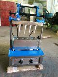 El nuevo tipo acero inoxidable fácil funciona la máquina del cono de helado