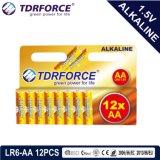 Pile sèche alkaline avec du ce reconnu pour le jouet 8PCS (taille de LR03-AAA)