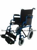 Silla manual económica del transporte, sillón de ruedas