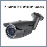 cámara impermeable del punto negro de la red del IP de la seguridad del CCTV de 2.0MP WDR IR
