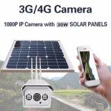 1080P камера слежения батареи IP66 камеры беспроволочная 3G 4G SIM WiFi IP пули солнечной силы 30W напольная водоустойчивая с 16GB TF
