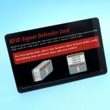 RFID Scanner, der Schutzkarten blockt