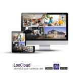 HD 720p 4チャネルDVRキットの監視サーベイランス制度CCTVの保安用カメラ