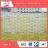 L'aluminium PVDF découpé au laser Panneaux perforés Garden Fence/ Clôture de la vie privée