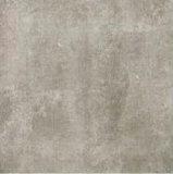 Azulejo de suelo esmaltado rústico de la porcelana del final mate gris claro para el cuarto de baño