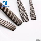 Produits de haute qualité noir 18/0 couverts en acier inoxydable fixée pour l'hôtel