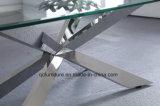 販売のための一義的なデザインステンレス鋼の大理石のコーヒーテーブル