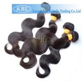 毛の束、インドの等級3Aの人間の毛髪