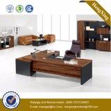 Mobília de escritório moderna L mesa de escritório executivo da melamina da forma (HX-5DE209)