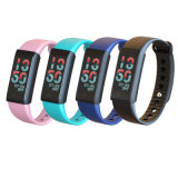 Écran tactile OLED colorés Water-Resistant Smart Fitness Santé bracelet Bluetooth
