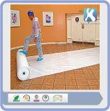 Pista auta-adhesivo blanca del protector del suelo de los muebles de la mejor materia textil