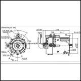 Coche eléctrico de 48V DC Motors XP-2067-S 3.7 Kw a 2.500 r.p.m.