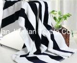 Более мягких и пушистых, пляжные полотенца высокого качества с красочными полосой, настраиваемые службы приемлемого