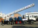 500mの深さの井戸の掘削装置はトラックに取付けた