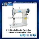 Máquina de coser del solo de la aguja punto de cadeneta de la Poste-Base