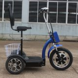 Adulto 500W a dobragem três rodas Scooter de mobilidade eléctrica com a cesta