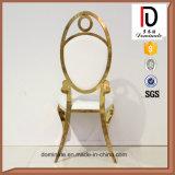 De recentste Model Hoge Achter Ovale Stoel van de Gouden bruiloft en van de Gebeurtenis van de Vorm