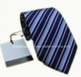 Cravate neuve de soie d'hommes de piste de modèle