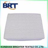 Cubierta de colchón impermeable de la pongis del poliester de la tela escocesa del punto negro