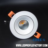 Downlight LED SMD de 8W 640lm Foco abajo