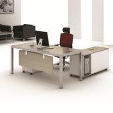현대 유형 사무용 가구 워크 스테이션 나무로 되는 테이블