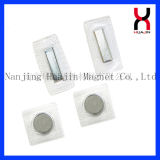 PVC/TPU Revêtement de zinc bouton magnétique