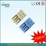De Adapter van de Optica van de Vezel van LC Sm Quadruplex met RoHS en Ceramische Koker