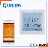 Termóstato programable semanal elegante de WiFi del uso de interior de la calefacción por el suelo