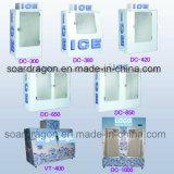 600L dubbele Merchandiser van het Ijs van Deuren voor Benzinestation In zakken gedaan Ijs