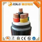 Manufatura de China do fio e do cabo distribuidor de corrente elétricos isolados PVC