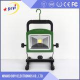 luz del trabajo de 50W LED, recargable ligero del trabajo