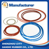 Kundenspezifischer Entwurfs-Hochtemperatursilikon-Gummi-O-Ring in der Dichtung